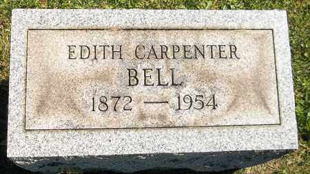 CARPENTER BELL, EDITH - Trumbull County, Ohio | EDITH CARPENTER BELL - Ohio Gravestone Photos