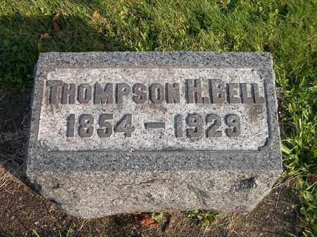 BELL, THOMPSON H. - Trumbull County, Ohio | THOMPSON H. BELL - Ohio Gravestone Photos