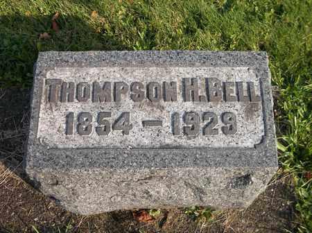 BELL, THOMPSON H. - Trumbull County, Ohio | THOMPSON H. BELL - Ohio Gravestone Photos