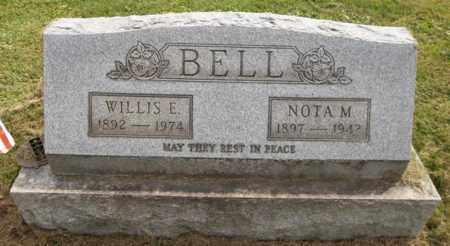 BELL, NOTA M. - Trumbull County, Ohio | NOTA M. BELL - Ohio Gravestone Photos