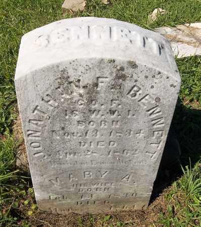 BENNETT, JONATHAN F. - Trumbull County, Ohio | JONATHAN F. BENNETT - Ohio Gravestone Photos