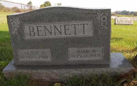 BENNETT, VICTOR R. - Trumbull County, Ohio | VICTOR R. BENNETT - Ohio Gravestone Photos