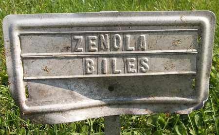 BILES, ZENOLA - Trumbull County, Ohio | ZENOLA BILES - Ohio Gravestone Photos