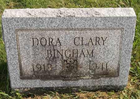 CLARY BINGHAM, DORA - Trumbull County, Ohio | DORA CLARY BINGHAM - Ohio Gravestone Photos