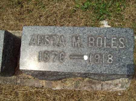 BOLES, AUSTA M. - Trumbull County, Ohio | AUSTA M. BOLES - Ohio Gravestone Photos