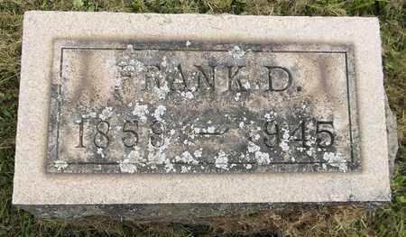 BOORN, FRANK D. - Trumbull County, Ohio | FRANK D. BOORN - Ohio Gravestone Photos