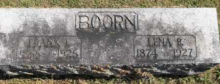 BOORN, LENA B. - Trumbull County, Ohio | LENA B. BOORN - Ohio Gravestone Photos