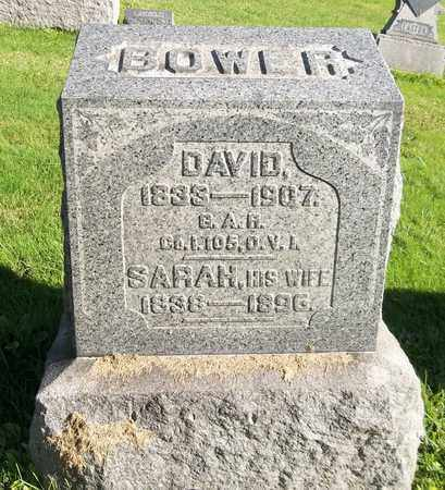 BOWER, DAVID - Trumbull County, Ohio | DAVID BOWER - Ohio Gravestone Photos