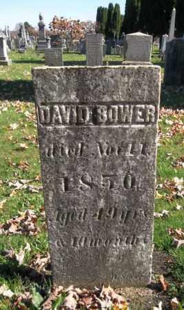 BOWER, DAVID - Trumbull County, Ohio | DAVID BOWER - Ohio Gravestone Photos