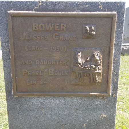 BOWER, PEARL BELLE - Trumbull County, Ohio | PEARL BELLE BOWER - Ohio Gravestone Photos