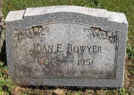 BOWYER, JOAN E. - Trumbull County, Ohio | JOAN E. BOWYER - Ohio Gravestone Photos