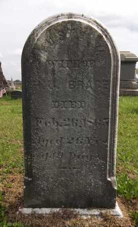 BRACE, AUSTA M. - Trumbull County, Ohio | AUSTA M. BRACE - Ohio Gravestone Photos