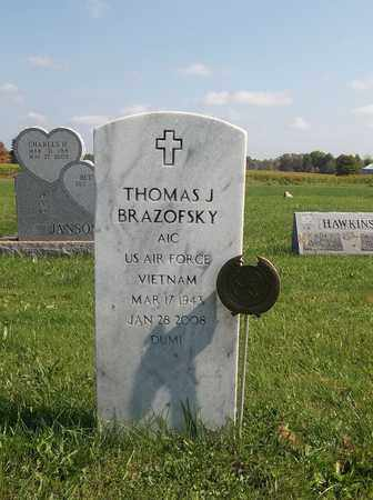 BRAZOFSKY, THOMAS J. - Trumbull County, Ohio | THOMAS J. BRAZOFSKY - Ohio Gravestone Photos