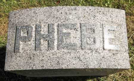 BRIGDEN, PHEBE - Trumbull County, Ohio | PHEBE BRIGDEN - Ohio Gravestone Photos