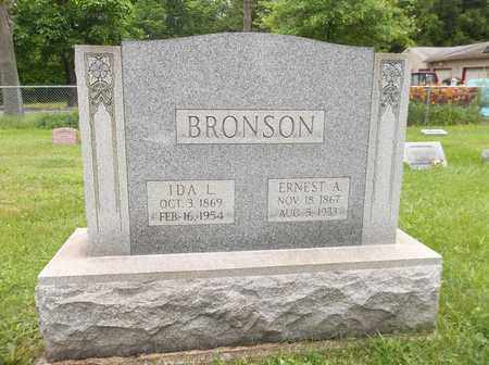 BRONSON, ERNEST A. - Trumbull County, Ohio | ERNEST A. BRONSON - Ohio Gravestone Photos