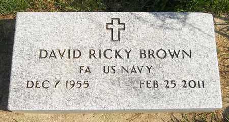 BROWN, DAVID RICKY - Trumbull County, Ohio | DAVID RICKY BROWN - Ohio Gravestone Photos