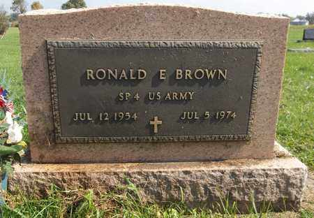 BROWN, RONALD E. - Trumbull County, Ohio | RONALD E. BROWN - Ohio Gravestone Photos