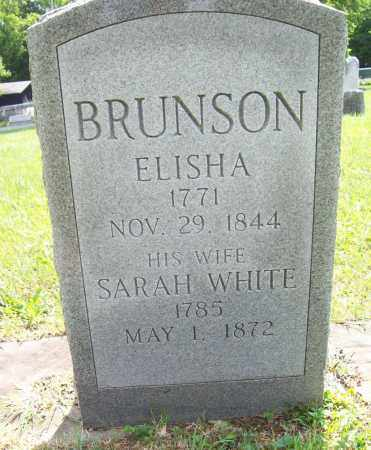 WHITE BRUNSON, SARAH - Trumbull County, Ohio | SARAH WHITE BRUNSON - Ohio Gravestone Photos