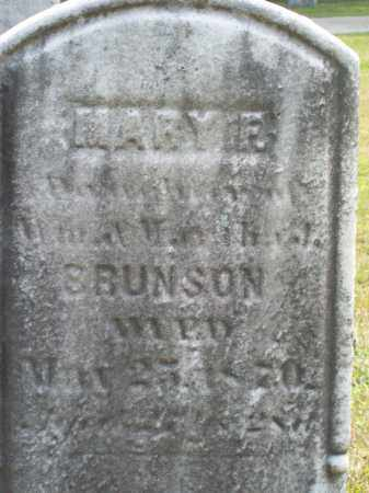 BRUNSON, MARY F. - Trumbull County, Ohio | MARY F. BRUNSON - Ohio Gravestone Photos