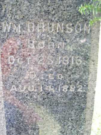 BRUNSON, WILLIAM - Trumbull County, Ohio | WILLIAM BRUNSON - Ohio Gravestone Photos
