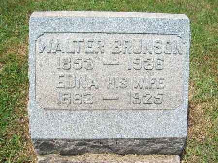 CURTISS BRUNSON, EDNA MAY - Trumbull County, Ohio | EDNA MAY CURTISS BRUNSON - Ohio Gravestone Photos