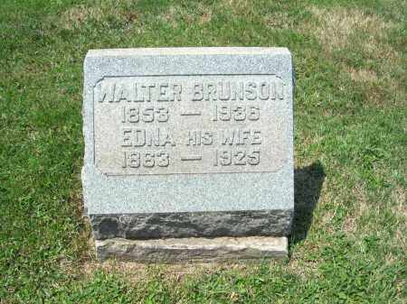 BRUNSON, EDNA MAY - Trumbull County, Ohio | EDNA MAY BRUNSON - Ohio Gravestone Photos