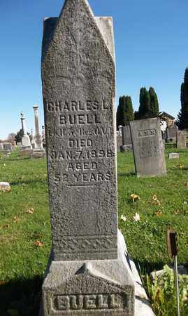 BUELL, CHARLES L. - Trumbull County, Ohio | CHARLES L. BUELL - Ohio Gravestone Photos