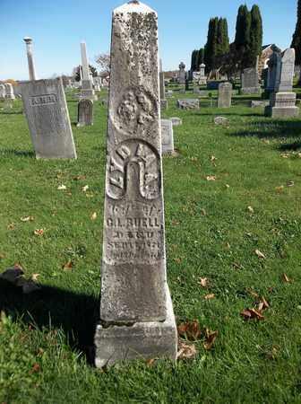 BUELL, LYDIA A. - Trumbull County, Ohio | LYDIA A. BUELL - Ohio Gravestone Photos