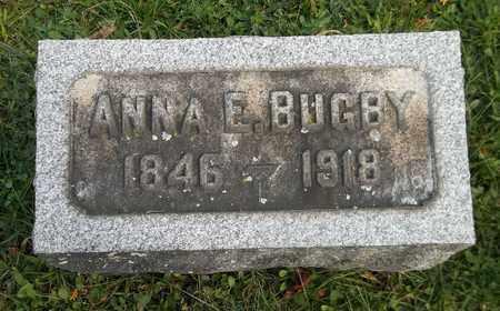 BUGBY, ANNA E. - Trumbull County, Ohio | ANNA E. BUGBY - Ohio Gravestone Photos
