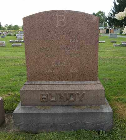 BUNDY, T. (THOMAS) W. - Trumbull County, Ohio | T. (THOMAS) W. BUNDY - Ohio Gravestone Photos