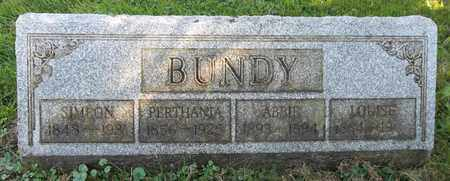 BUNDY, LOUISE - Trumbull County, Ohio | LOUISE BUNDY - Ohio Gravestone Photos