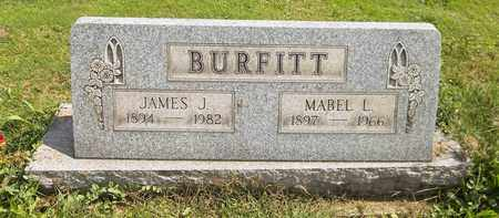 BURFITT, JAMES J. - Trumbull County, Ohio | JAMES J. BURFITT - Ohio Gravestone Photos