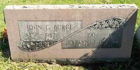BURGE, JOHN G. - Trumbull County, Ohio | JOHN G. BURGE - Ohio Gravestone Photos