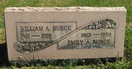BURGE, WILLIAM A. - Trumbull County, Ohio | WILLIAM A. BURGE - Ohio Gravestone Photos