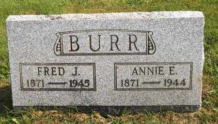 BURR, FRED J. - Trumbull County, Ohio | FRED J. BURR - Ohio Gravestone Photos