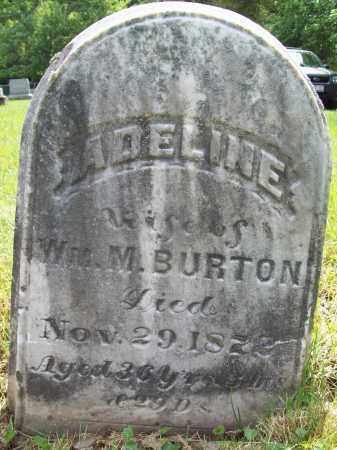 BURTON, ADELINE - Trumbull County, Ohio | ADELINE BURTON - Ohio Gravestone Photos