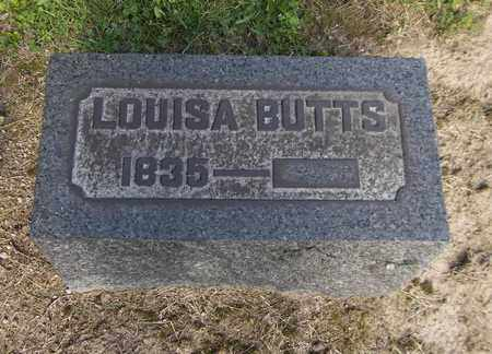 BUTTS, LOUISA - Trumbull County, Ohio | LOUISA BUTTS - Ohio Gravestone Photos