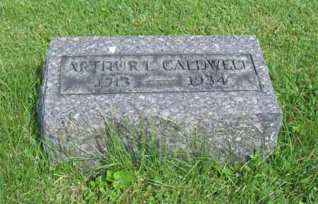 CALDWELL, ARTHUR L. - Trumbull County, Ohio | ARTHUR L. CALDWELL - Ohio Gravestone Photos