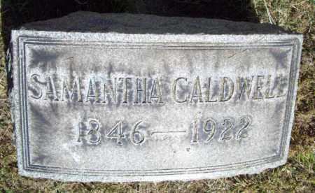 KINCAID CALDWELL, SAMANTHA ALMIRA - Trumbull County, Ohio | SAMANTHA ALMIRA KINCAID CALDWELL - Ohio Gravestone Photos