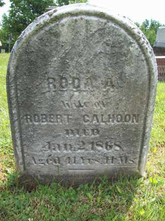 CALHOON, RODA A. - Trumbull County, Ohio | RODA A. CALHOON - Ohio Gravestone Photos