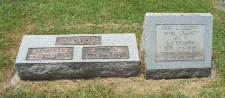 CALLIHAN, NORA L. - Trumbull County, Ohio | NORA L. CALLIHAN - Ohio Gravestone Photos