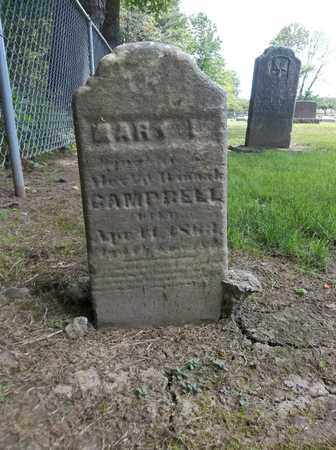 CAMPBELL, MARY L. - Trumbull County, Ohio   MARY L. CAMPBELL - Ohio Gravestone Photos
