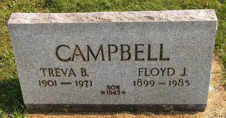 CAMPBELL, FLOYD J. - Trumbull County, Ohio | FLOYD J. CAMPBELL - Ohio Gravestone Photos