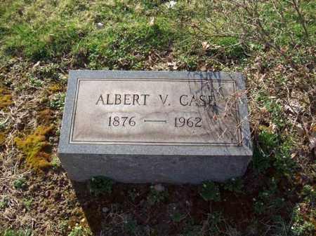 CASE, ALBERT V. - Trumbull County, Ohio | ALBERT V. CASE - Ohio Gravestone Photos