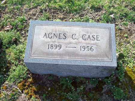 CAREY CASE, AGNES - Trumbull County, Ohio | AGNES CAREY CASE - Ohio Gravestone Photos