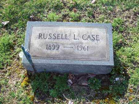 CASE, RUSSELL L. - Trumbull County, Ohio | RUSSELL L. CASE - Ohio Gravestone Photos