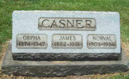 JONES CASNER, ORPHA - Trumbull County, Ohio | ORPHA JONES CASNER - Ohio Gravestone Photos