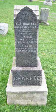CHAFFEE, E. A. - Trumbull County, Ohio | E. A. CHAFFEE - Ohio Gravestone Photos