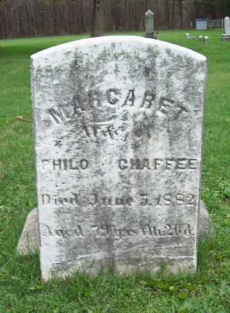 CHAFFEE, MARGARET - Trumbull County, Ohio | MARGARET CHAFFEE - Ohio Gravestone Photos