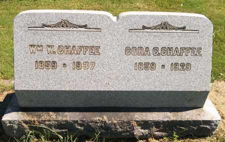 CHAFFEE, CORA C. - Trumbull County, Ohio | CORA C. CHAFFEE - Ohio Gravestone Photos